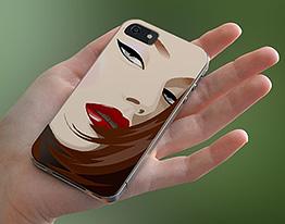 iphone case girl illustration thumbnail