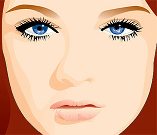 woman illustration - 1a