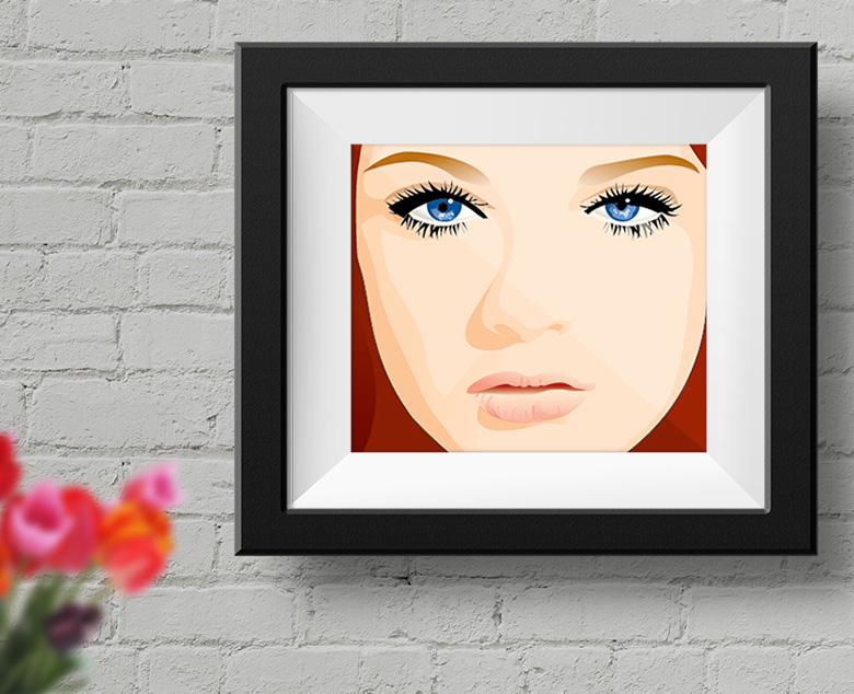 woman illustration - 1c