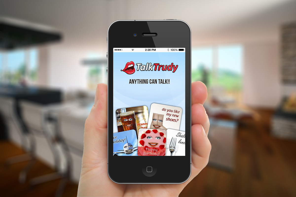 iOS mobile app screen